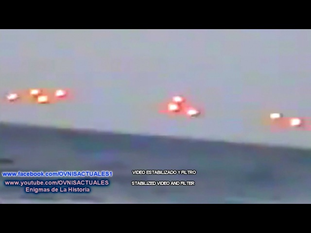 BARCO SE TOPA CON OVNI S EN EL MAR DE FLORIDA▬UFO'S MEETING FISHERMEN IN Indialantic Florida En 1994