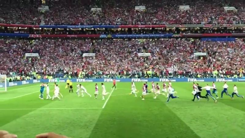 Победный сейв. Реакция команды. Россия - Испания 2018