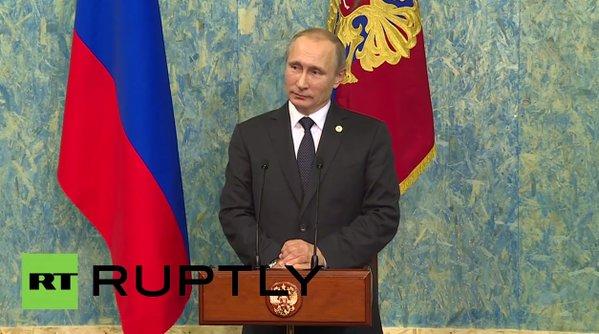 #RT #Путин #Су24 Владимир Путин: Нам не важно, кто в Турции принял решение сбить российский Су-24 Ч... Возрождение России