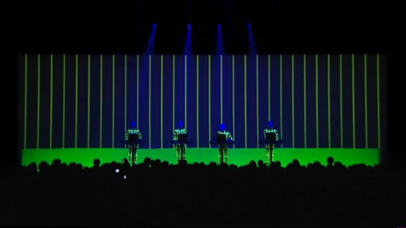 Kraftwerk - Aero Dynamik (live) [HD]