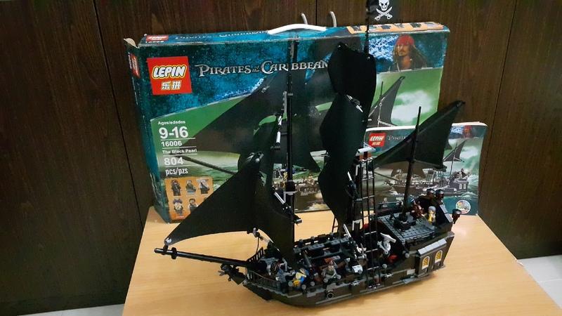 LEGO LEPIN THE BLACK PEARL