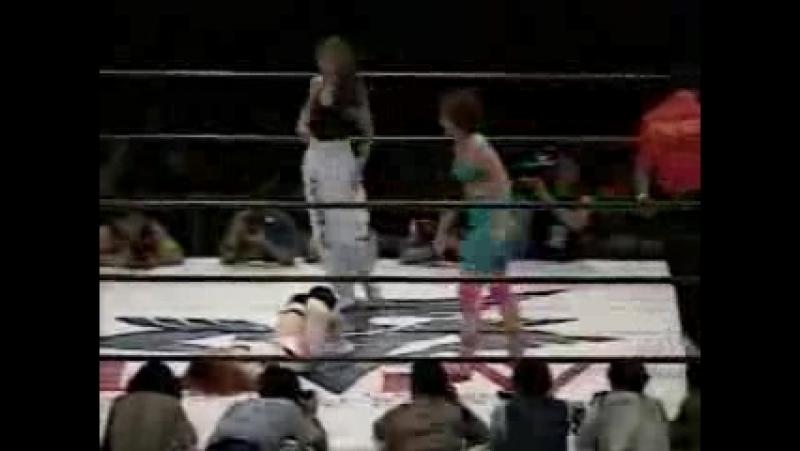 3. Rumi Kazama, Carol Midori, Michiko Nagashima vs. Bad Nurse Nakamura, Miwa Sato, Yukie Nabeno (LLPW 7.14.94)