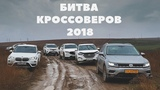 Кроссоверы 2018 BMW X1, Hyundai Tucson, Mazda CX5, Toyota RAV4, Subaru Forester, Volkswagen Tiguan