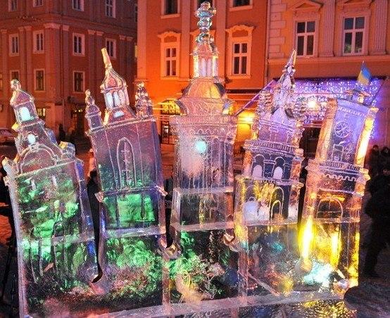 Львівський конкурс льодових споруд