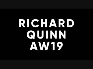 Журнал Love: Показ осенне-зимней коллекции Richard Quinn, Лондон