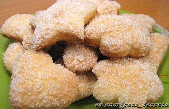 сахарное печенье простой рецепт фото