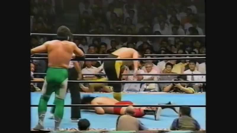 1994.09.03 - Giant Baba/Mitsuharu Misawa/Tamon Honda vs. Toshiaki Kawada/Akira Taue/Takao Omori [JIP]