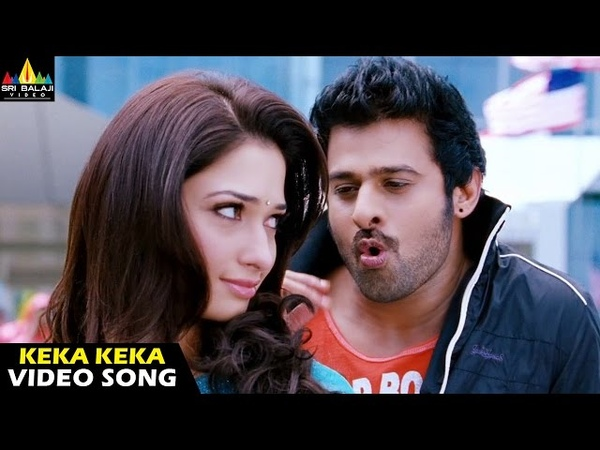 Rebel Songs | Keka Keka Video Song | Telugu Latest Video Songs | Prabhas, Tamannah
