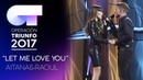 LET ME LOVE YOU - Aitana y Raoul   Gala 6   OT 2017