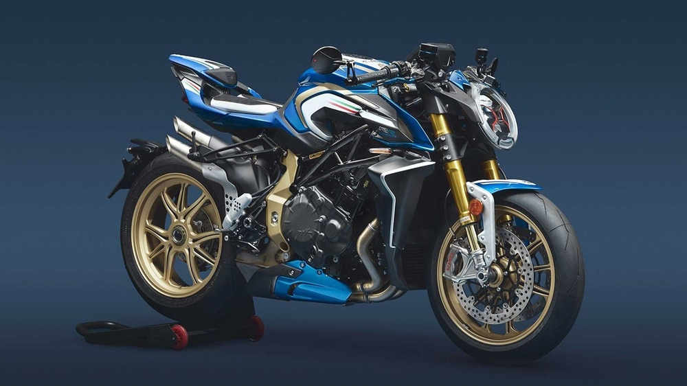 Мотоцикл MV Agusta Brutale 1000 RR Blue & White ML 2020