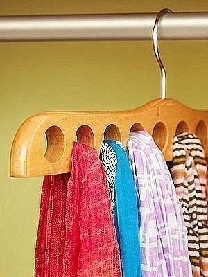 Идеи хранения вещей, которые сделают Вашу жизнь проще:… (9 фото)