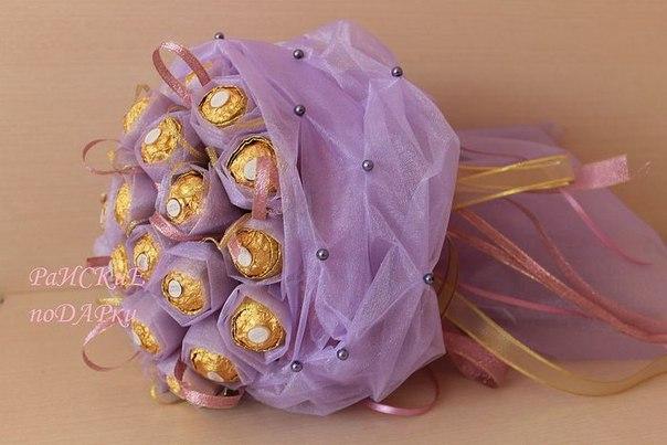 Дизайн свадебного букета