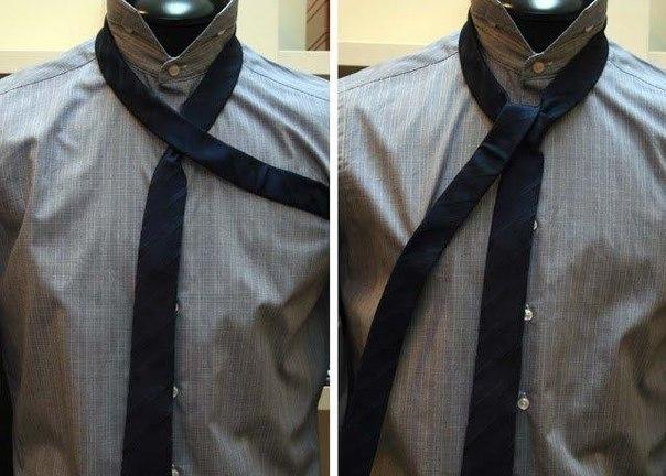 Как завязать галстук узлом