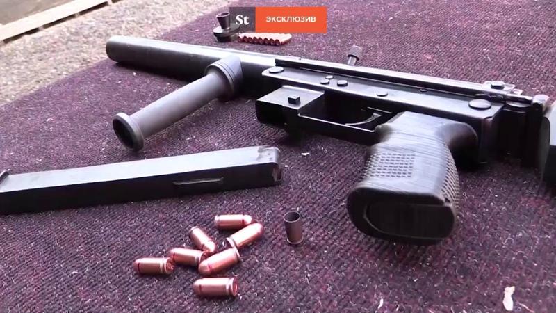 В ДНР впервые продемонстрировали пистолет-пулемет «Оплот»