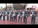 Военный оркестр и группа барабанщиков Военного института ВВ МВД РК г Петропавловск 2013 год