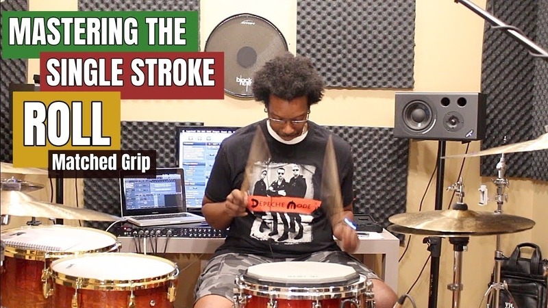 MASTERING The SINGLE STROKE ROLL (Matched Grip)