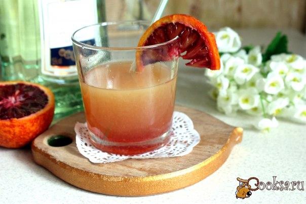 """Коктейль с мартини «Рассвет"""" Простой в приготовлении, но красивый и вкусный дамский коктейль, отличный вариант для девичника.."""