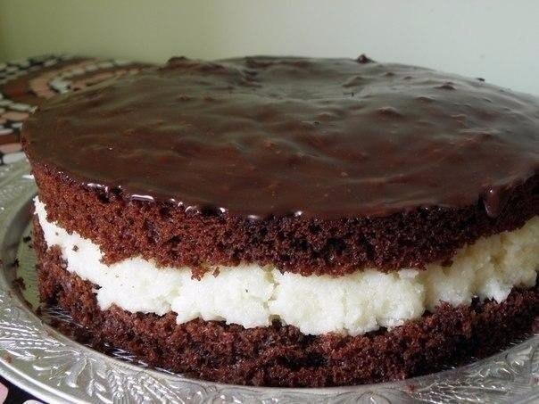Торт баунти фото-рецепт