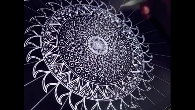 Digital Mandala by Seb Lester / @klim_dmt video archive