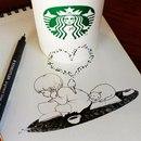 Рисунки с кофейным настроением