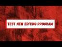 Test new editing program (bonus hammertime)