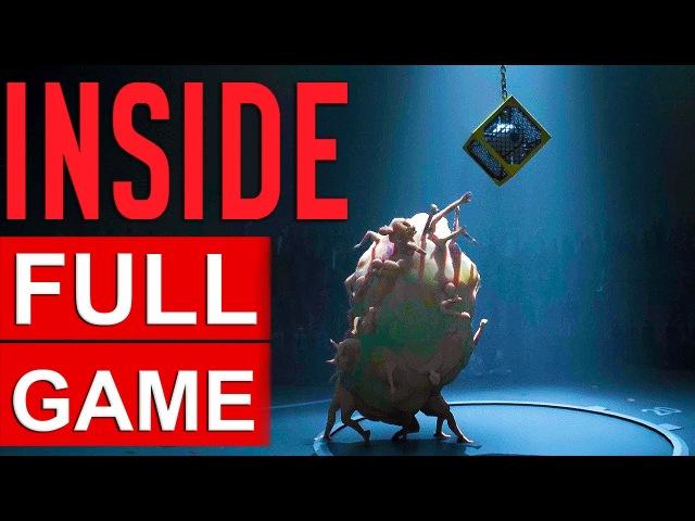 INSIDE FULL Gameplay Walkthrough [1080p HD] - No Commentary