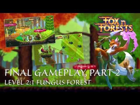 FOX n FORESTS - Gameplay 2018 - Fungus Forest