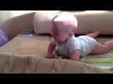 Заразительный детских смех )) Филе 6,5 месяцев