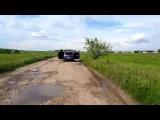 Громкий Ford Fusion на Ural decibel 4.150, AK 4.90, нч warhead w165mb, armada сч и вч без сабвуфера