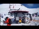 На популярном горнолыжном курорте Грузии сломался подъемник