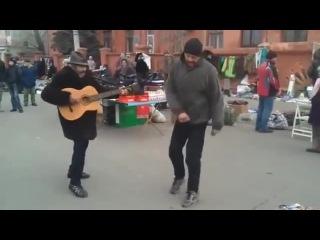 Кавер бомжей из Донбасса на песню ZZ Top
