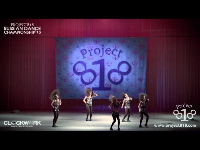 DANCESTATION CREW — Dance Show Crew @ Project818 Russian Dance Championship 2013