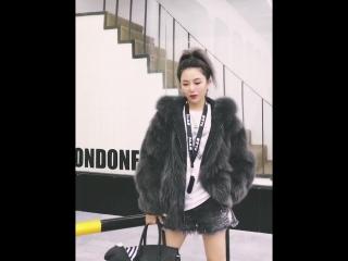 Куртка двухсторонняя с натуральным мехом