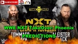 WWE NXT TakeOver Phoenix NXT Championship Tommaso Ciampa vs Aleister Black Predictions WWE 2K19