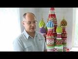 Гигантский собор из оригами