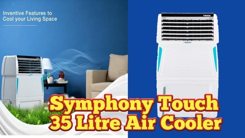 Symphony Touch 35 Litre Air Cooler 🔥🔥🔥