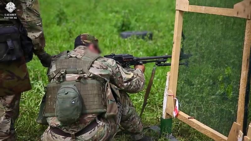 Пулеметчики Спецназа Стрельба из ПКМ из всех положений LAZAREV TACTICAL