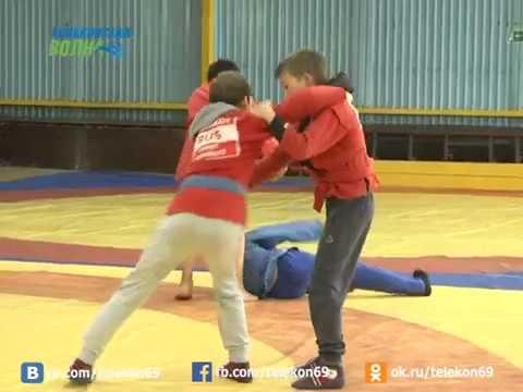 Подготовка конаковских борцов к соревнованиям