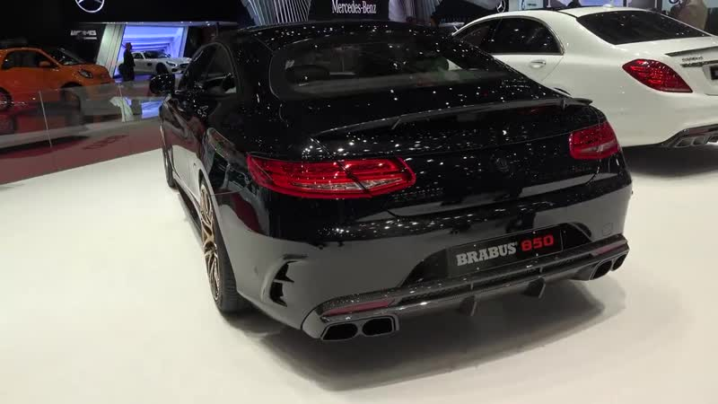 BRABUS 850 6.0 BITURBO COUPÉ S-classe Coupe with rose gold wheels and inter