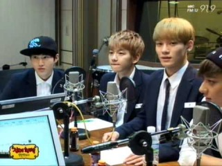 [VIDEO] 130829 정오의 희망곡 Shinyoung Radio - Growl Cut