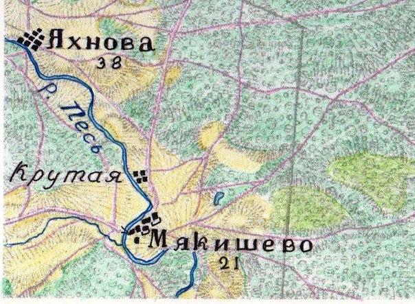 Вот карта конца 19 века.