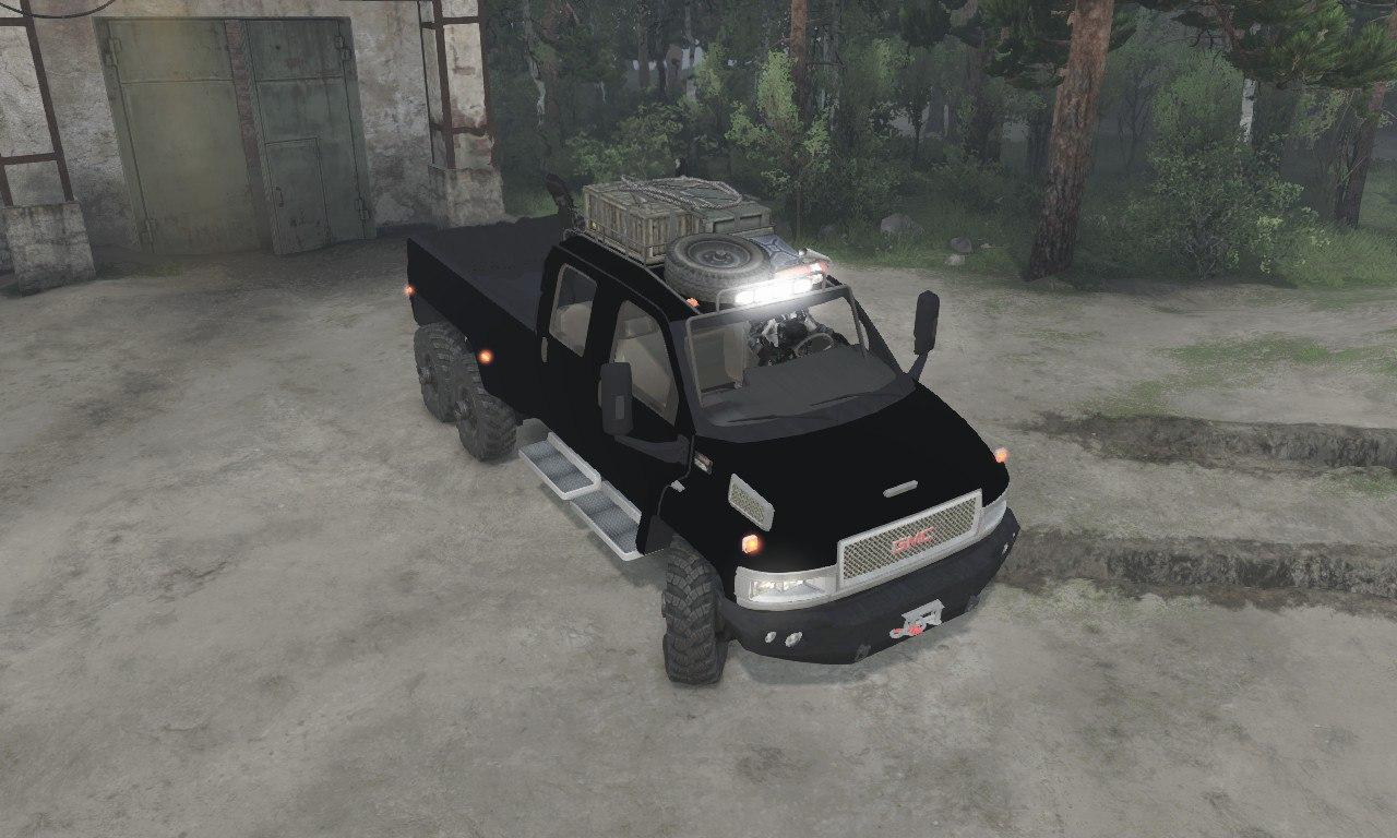GMC C4500 TopKick 6x6 для 03.03.16 для Spintires - Скриншот 3