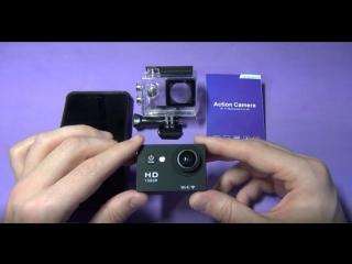 Экшн камера SportCam fullHD и Power Bank 10000mAh в подарок