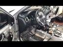 Nissan X-Trail, посмотрим сколько заводской шумоизоляции находится под салонными обшивками