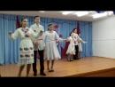 Марийский танец в исполнении обучающихся 8 класса МОБУ СОШ д.Нижнеиванаево