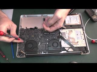 Замена клавиатуры на MacBook Pro Unibody 15
