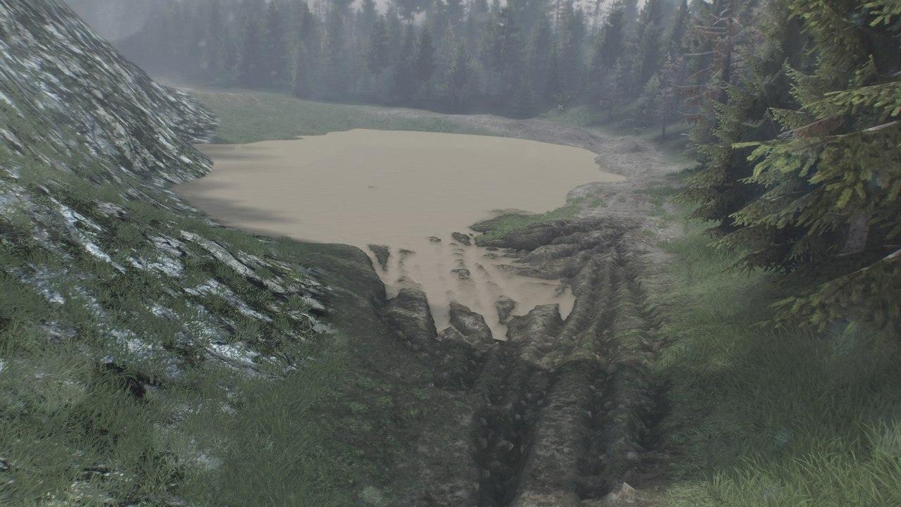 """Карта: """"Уральские горы""""для 23.10.15 & 8.11.15 для Spintires - Скриншот 3"""