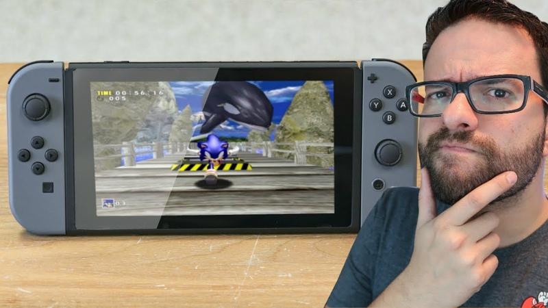 Sega vai trazer jogos do DREAMCAST pro Switch?