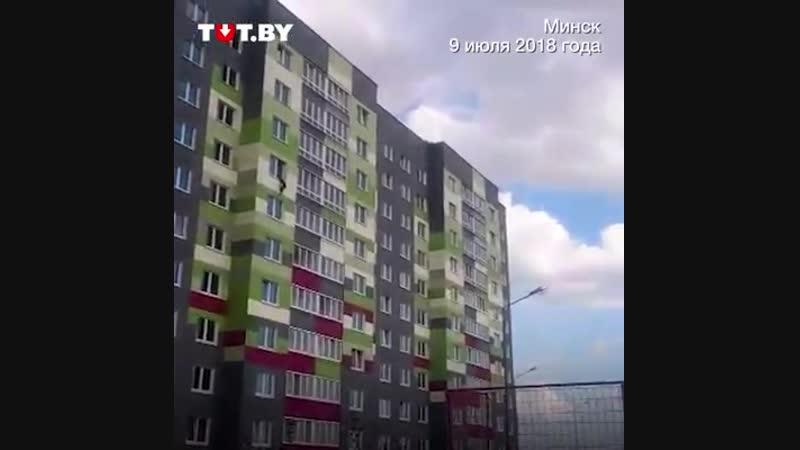 Как спасли ребенка, который упал из окна в Минске