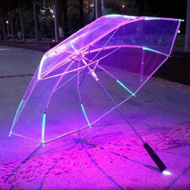 Крутой зонт с подсветкой -